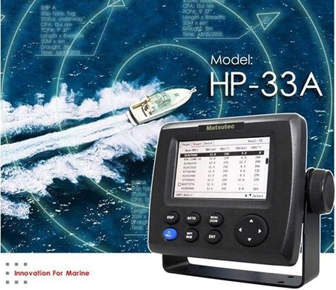 Matsutec HP-33a 4.3 Inch LCD Clase B AIS Transpondedor Combo Alta Marine GPS Navigator Marina de Navegación: Amazon.es: Electrónica