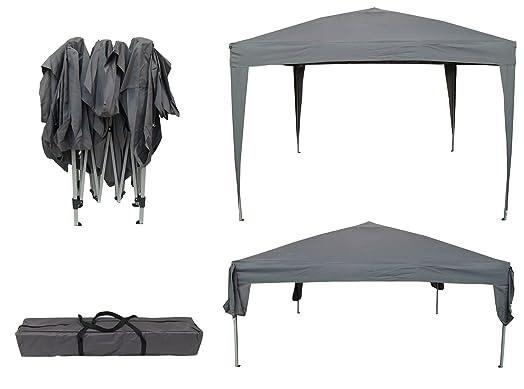 Airwave 3 X 3m Pop Up Gazebo Canopy No Sides Grey