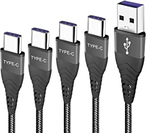 USB C Charger Cable Fast Charging Cord for Samsung Galaxy S20/S20 Plus/S20 Ultra FE 5G S21 S21+,A20 A10E A50 A51 A71,S10/Note 10 Lite,A21 A31 A41,A12 A02S,3A Phone Charge Power Wire 1FT 3FT 6FT 10FT
