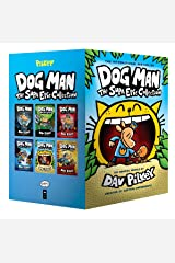 Dog Man: The Supa Epic Collection: From the Creator of Captain Underpants (Dog Man #1-6 Boxed Set) Hardcover