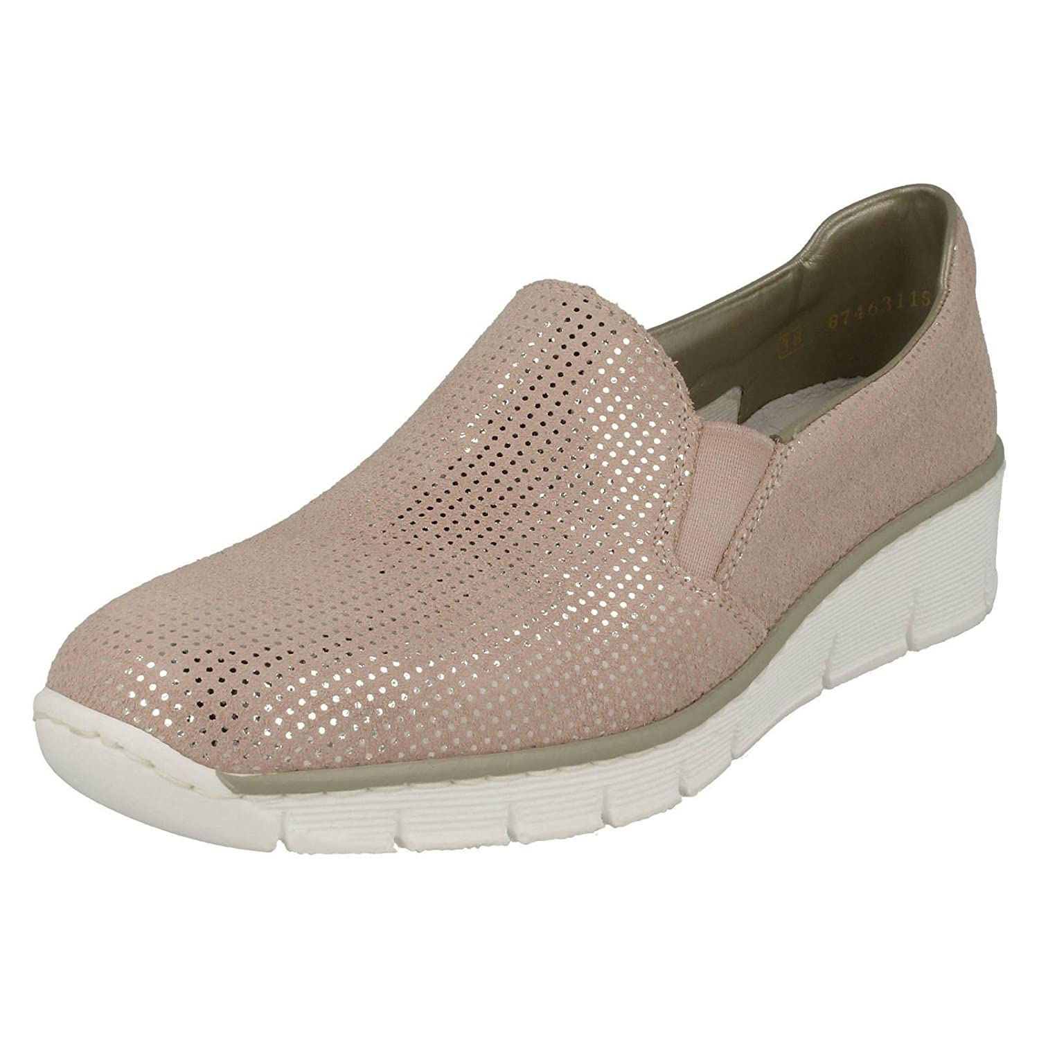 Rieker Melgar Womens Casual Shoes B078Y6NJ9X 41 M EU|32 Rose