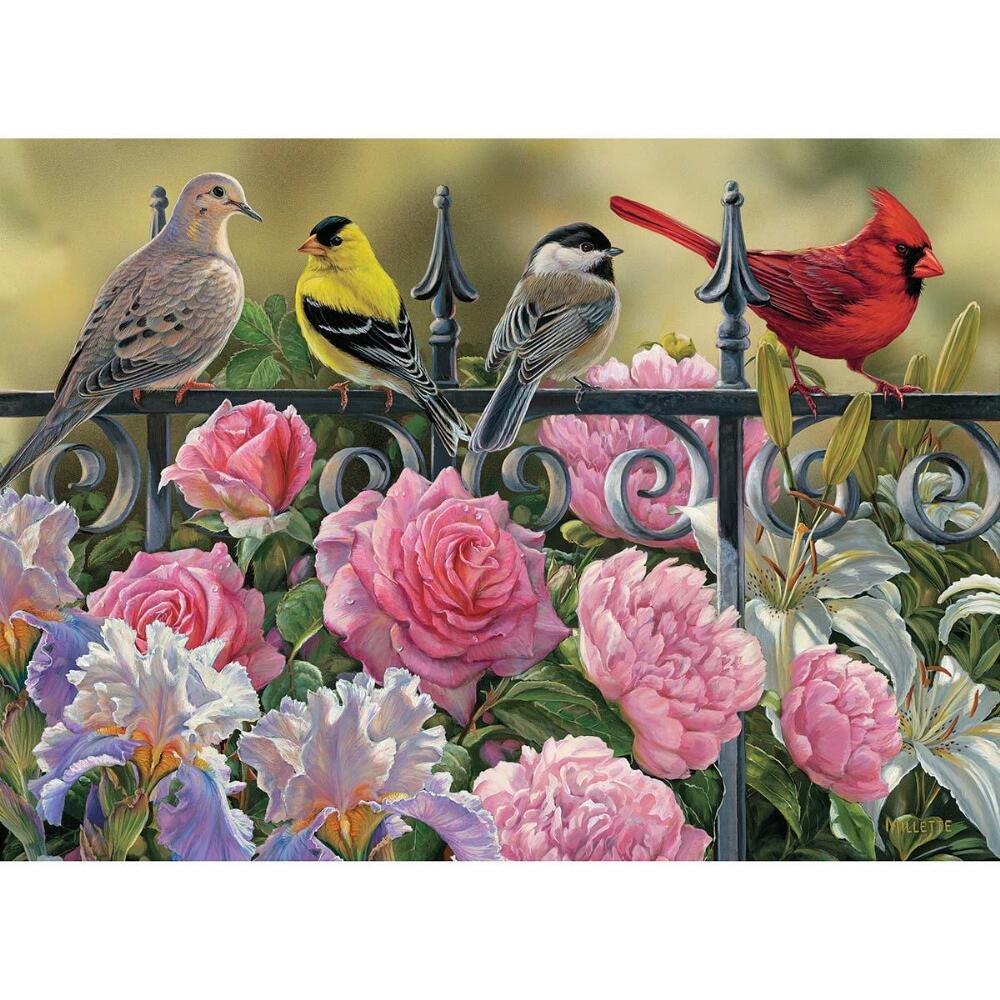 Cobble Hill 51817 - Uccelli vari - puzzle 1000 pezzi