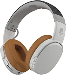 Skullcandy Crusher Bluetooth Wireless Over-Ear Headphones with Microphone, Noise Isolating Memory Foam,