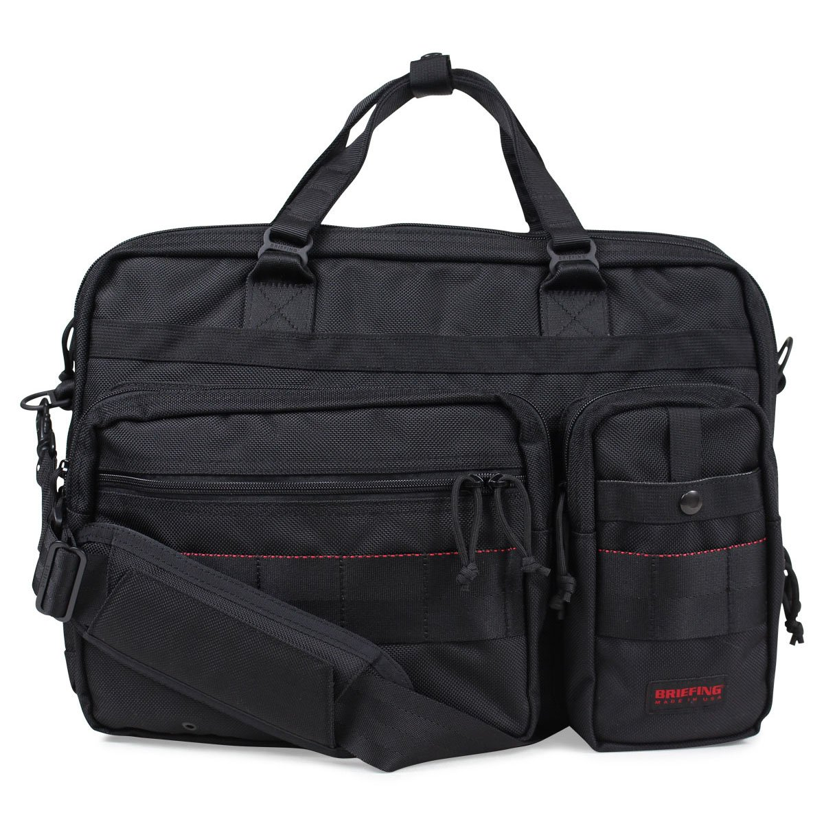 ブリーフィング B4 OVER TRIP バッグ ブリーフケース ビジネスバッグ BRF117219 メンズ (並行輸入品) B07CJ9481S ブラック