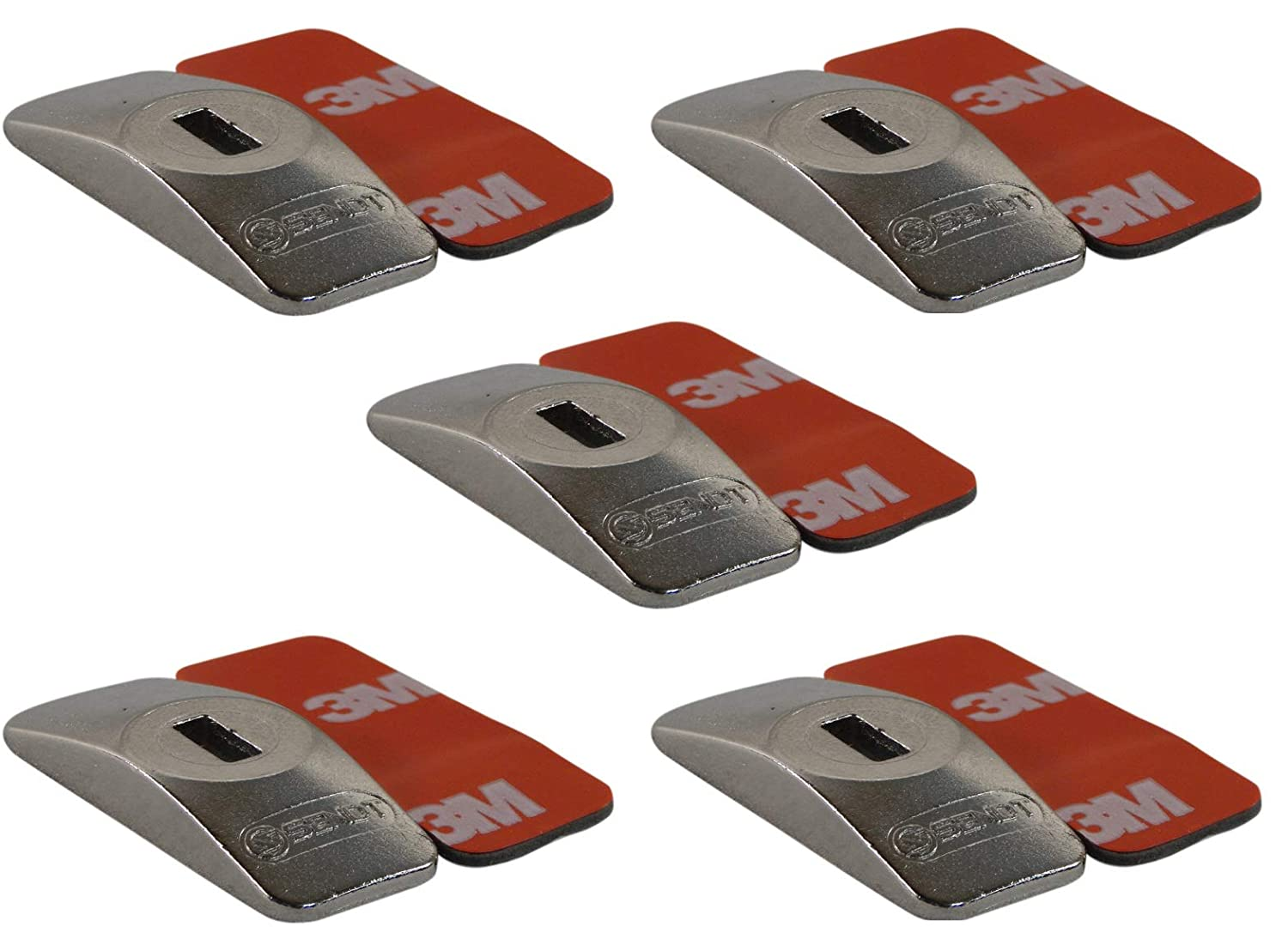 Sendt Adhesive Plates 5 Pack for use with Tablets and Other Devices Without a Kensington Compatible Slot
