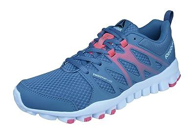 f92c97282a4ec Reebok Realflex Train 4.0 Chaussures de Course pour femme-Grey-35