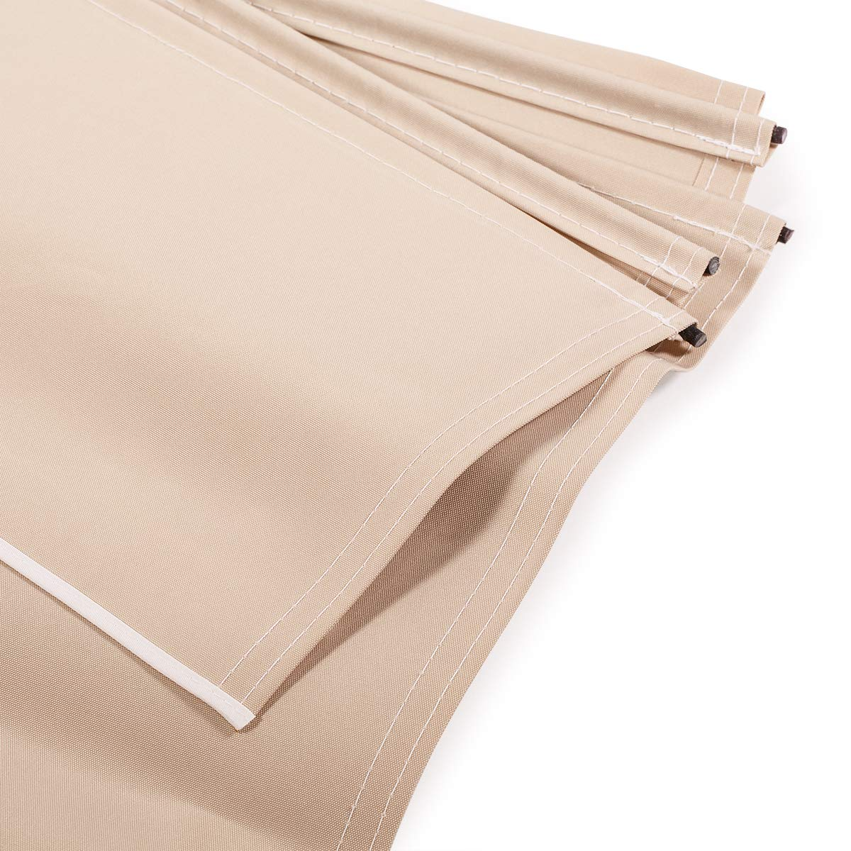 XtremepowerUS Patio Manual Retractable Sunshade Awning Shade Outdoor - Beige (10' x 8'ft) UV Resistant Water Sun Shade by XtremepowerUS (Image #6)