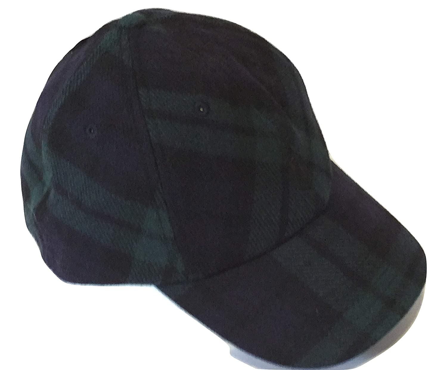 8015046a4 Ralph Lauren Polo Men s Wool Baseball Cap Blackwatch Plaid Navy Blue at  Amazon Men s Clothing store