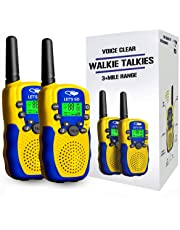 Tisy Long Range Walkie Talkies for Kids 38B - Best Gifts PMR446MHz 8 Channels