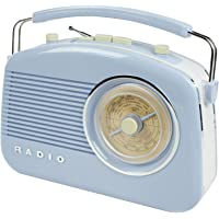 König HAV-TR710BU Retro-Design AM/FM-Radio blau