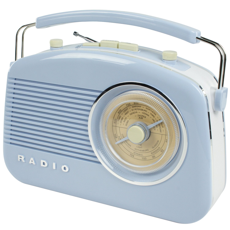 K/önig Radio Dab in Stile Retr/ò Nero
