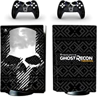 Ghost recon Skin Sticker Decal for playstation5 PS5 Disk Edition Console and 2 Skin Controllers