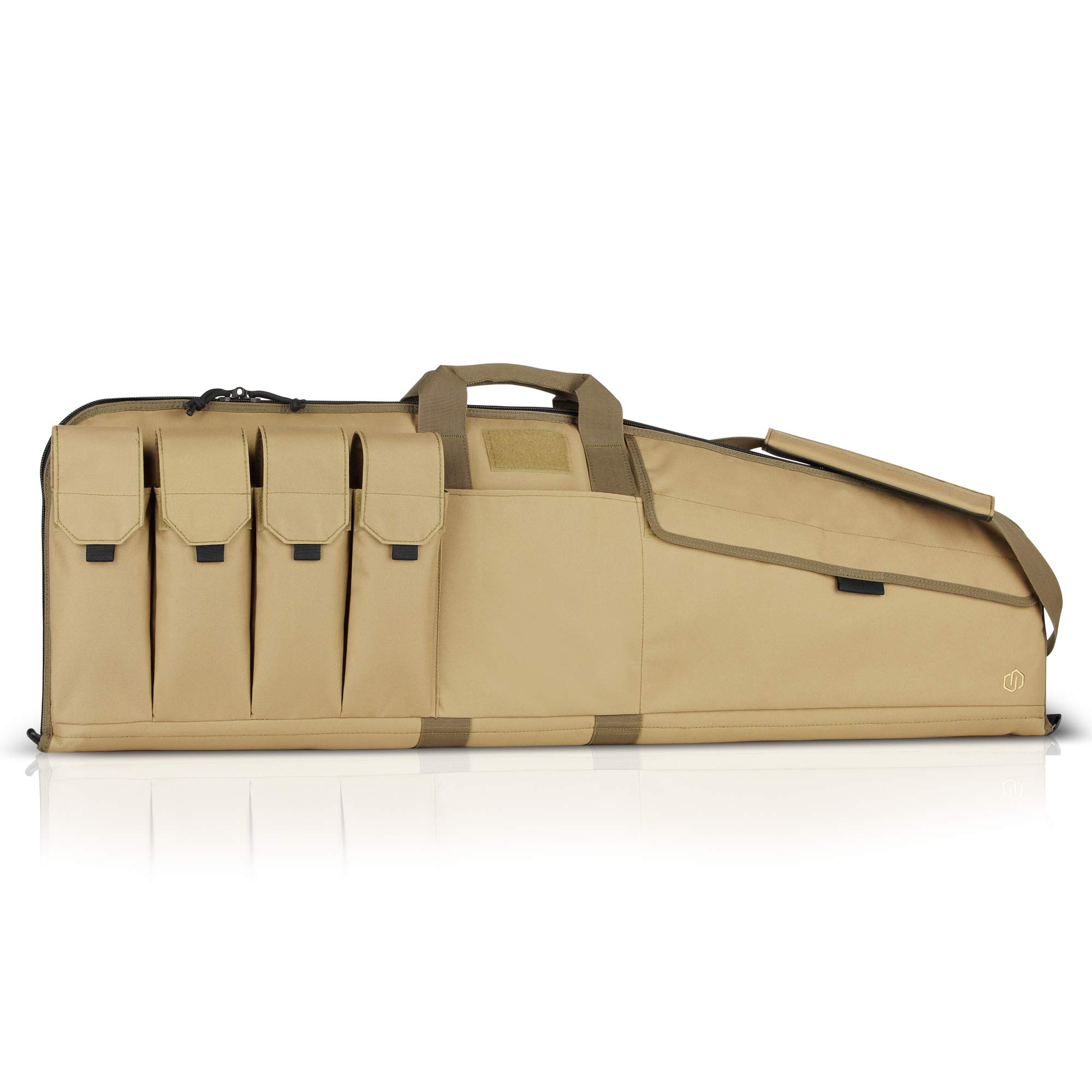 Savior Equipment The Patriot 42'' Single Rifle Gun Tactical Bag - Flat Dark Earth Tan by Savior Equipment