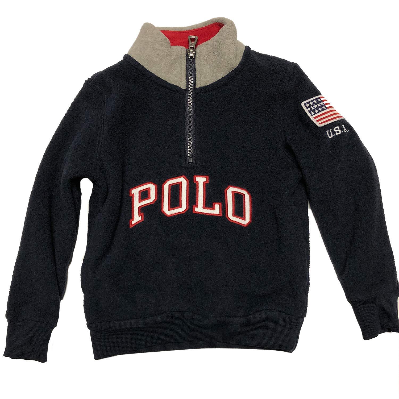 Ralph Lauren Little Boy's Fleece Pullover Sweater (7)