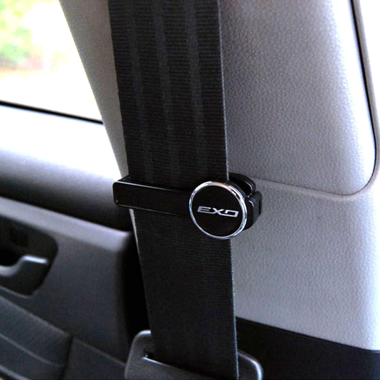 Amazon.com: Premium Line Car Safety Seat Belt Clip Stopper Clamps ...