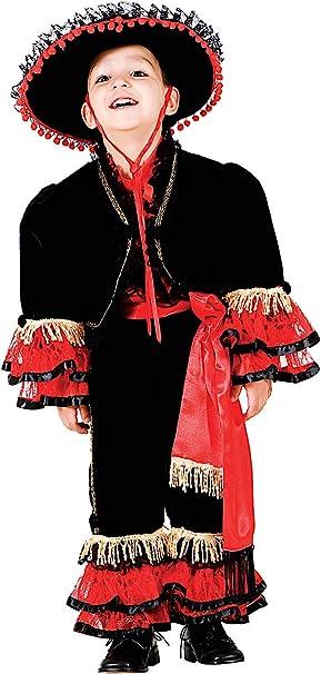 VENEZIANO Disfraz BAILARN del Flamenco Vestido Fiesta de Carnaval ...