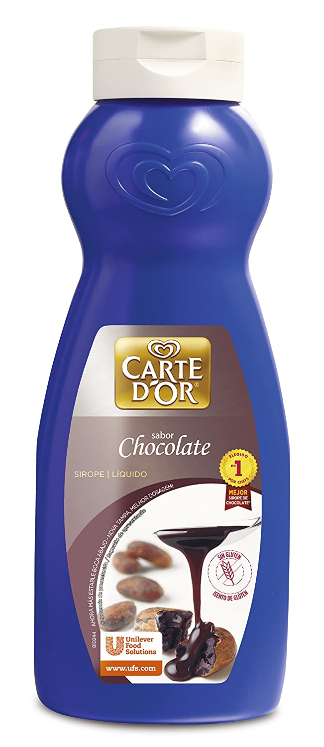 Carte DOr - Sirope líquido - Sabor chocolate - 758 ml - [Pack de 2]: Amazon.es: Alimentación y bebidas