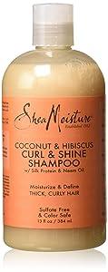 Shea Moisture Coconut Hibiscus Curling Shampoo-13 oz