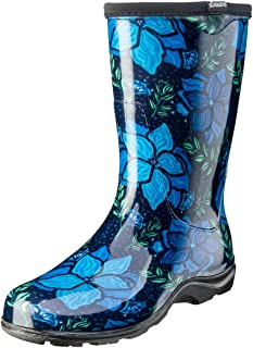product image for Sloggers 5018SSBL09 Spring Surprise Boot Waterproof, 9, Blue, 9