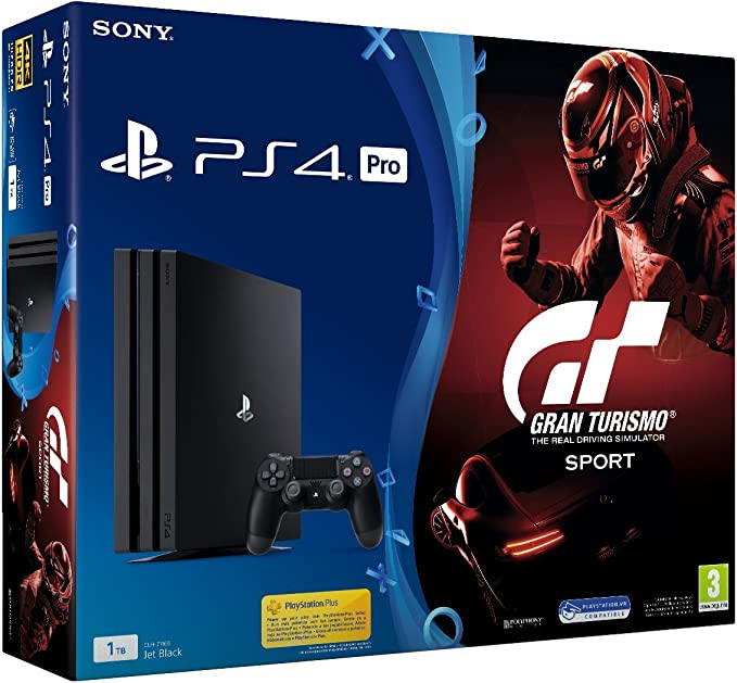 PlayStation 4 Pro (PS4) - Consola de 1TB + GT: Amazon.es: Videojuegos