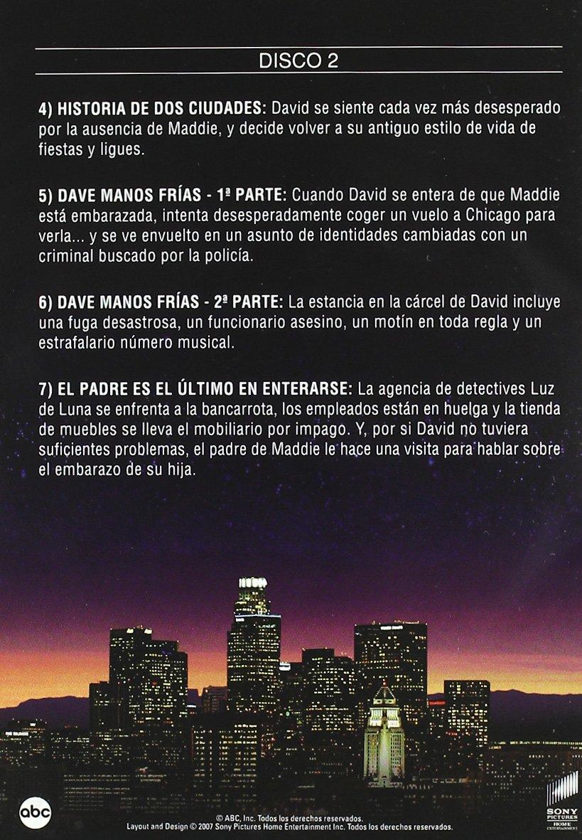 Luz de luna (4ª temporada) [DVD]: Amazon.es: Cybill Shepherd, Bruce Willis, Curtis Armstrong, Charles Rocket, Jack Blessing, Allyce Beasley, Robert Webber, ...