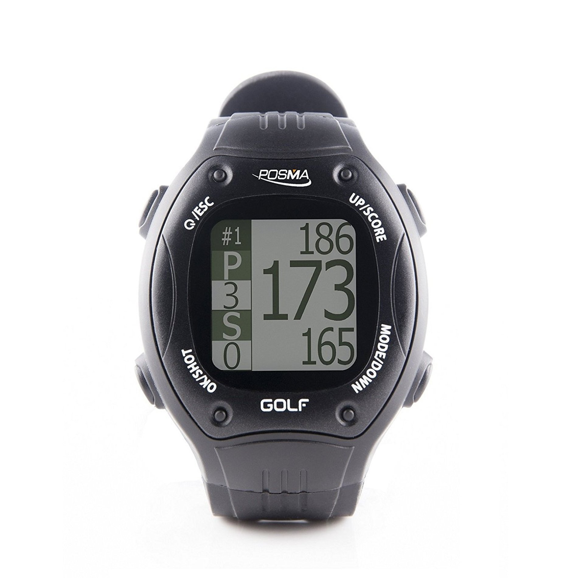 IDS Home POSMA GT1Plus Golf GPS Watch, Golf Band Range Finder, Preloaded Worldwide Golf Courses, No Download No Subscription