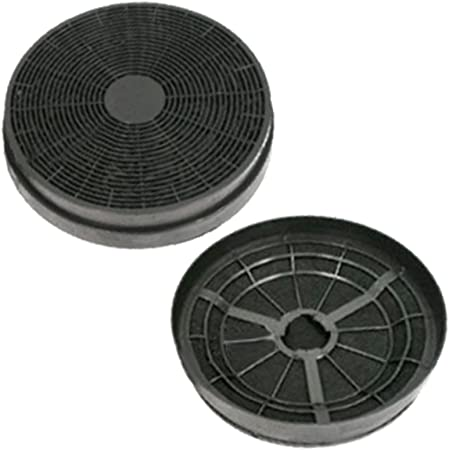 Spares2go - Filtro de olor de carbón activo para campana de cocina/extractor de ventilación Logik (paquete de 2): Amazon.es: Hogar