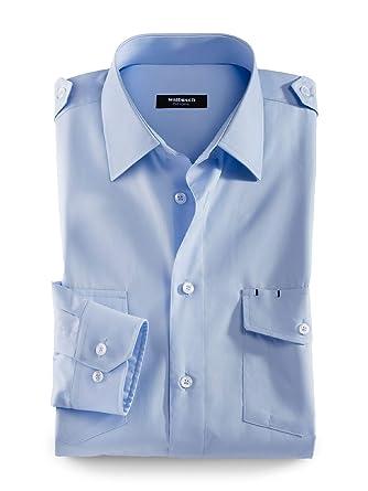 Top Qualität Top Qualität genießen Sie besten Preis Walbusch Herren Hemd Easycare Piloten-Hemd Comfort Fit ...