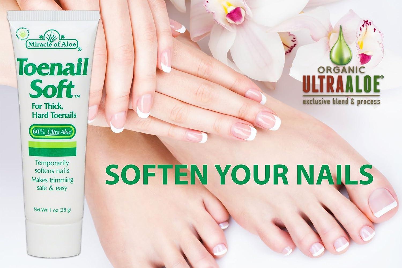 Amazon.com: Miracle Toenail Soft 1 Oz - Temporary Nail Softening ...