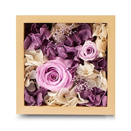Premium Eternal Flower Gift Box Rose Glass Music Birthday O
