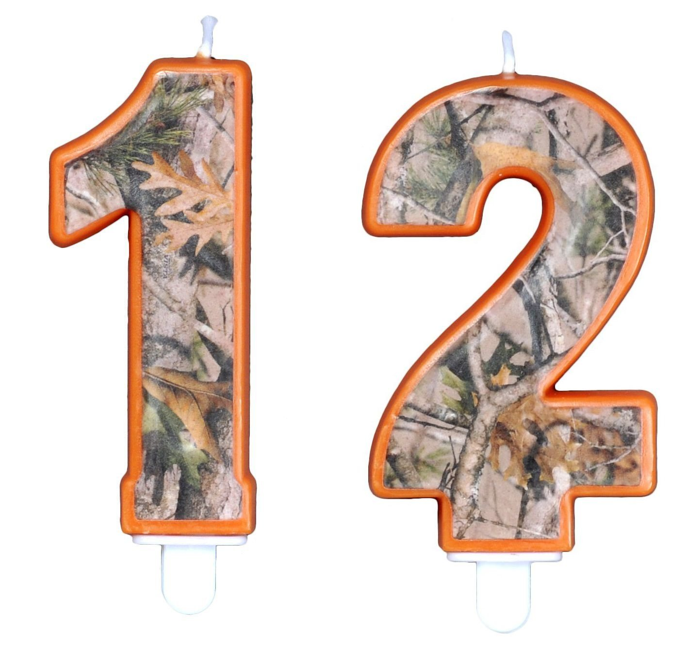 Amazon Camo Birthday 3 Inch Number 2 Two Candle Next Party Collection By Havercamp Toys Games