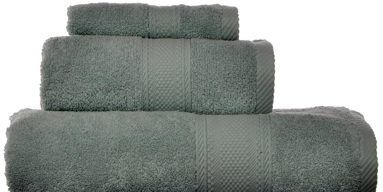 Laura Ashley Leyton Zero Twist 3 Piece Bath Towel Set