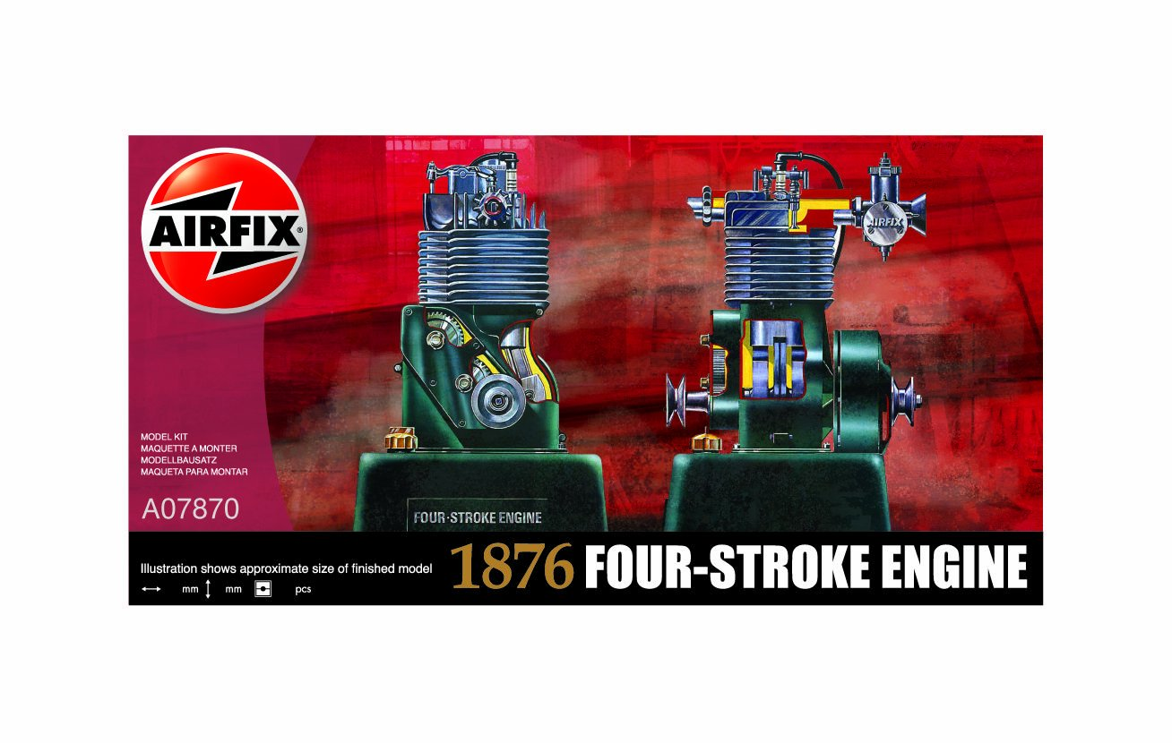 Airfix - Kit Motor 4 Tiempos (Hornby A07870)