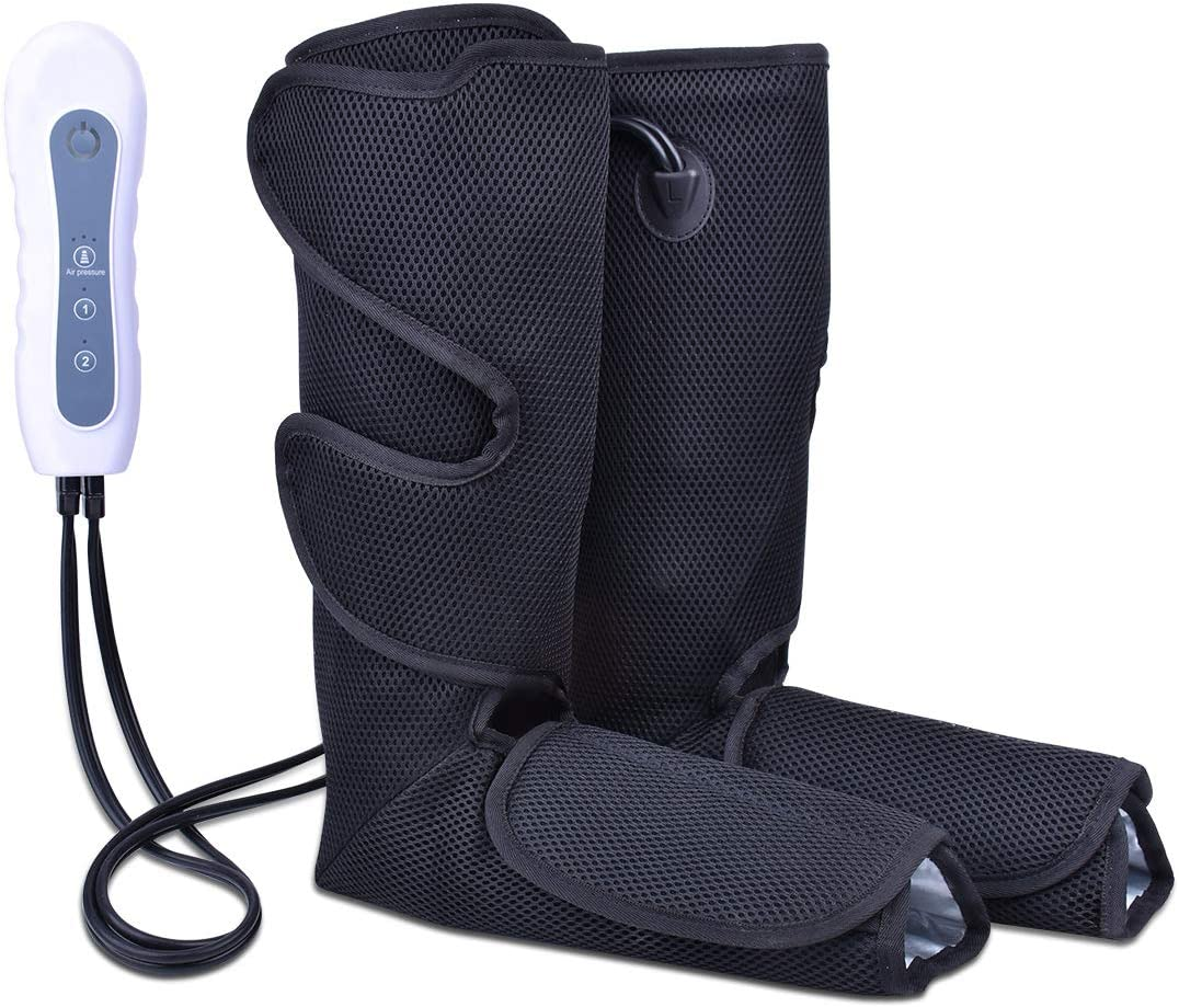 Leg Massager, Air Compression Leg Massager for Circulation and Relaxation