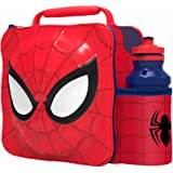 Spiderman 3D Lunch Bag And Bottle