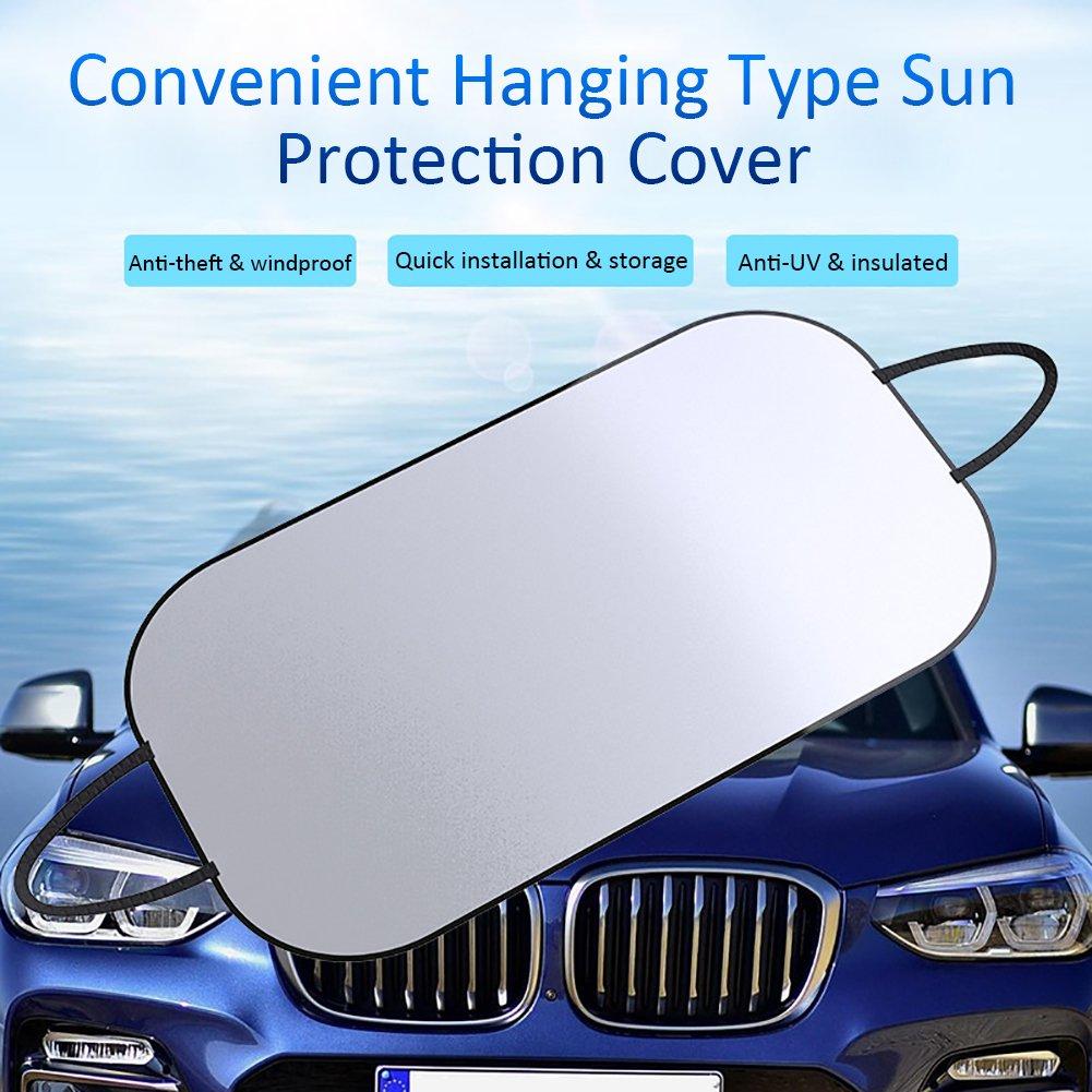 Sonne Eis /UV- Frost in alle Wetter passend f/ür die meisten von car-explosion-proof h/ängen style-a muss f/ür lange Reisen hervorragende Reflektierende/ Auto Sonnenschutz