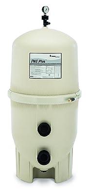 Pentair 180009 FNS Plus Fiberglass Reinforced Polypropylene Material, Vertical Grid, D.E. Pool Filter, 60 Square Feet, 120 GPM