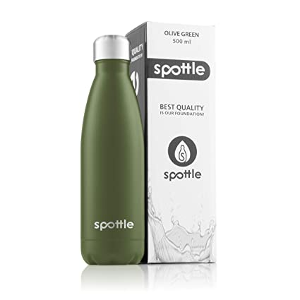 spottle Termo Botella/Acero Inoxidable 500 ML, Termo para la ...