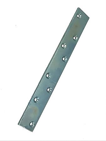Holzverbinder 10 Lochplatten Flachverbinder G verzinkt 200 mm x 40 mm x 3 m
