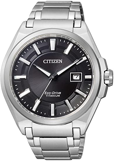 Citizen Super Titanium Reloj elegante para hombres Eco-Drive: Amazon.es: Relojes