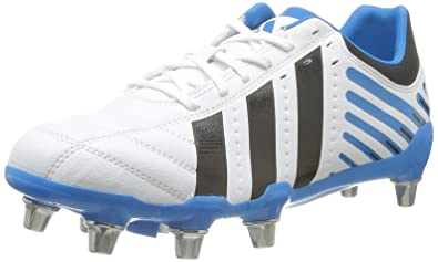 c374710ac115 adidas Men s Rugby Boots White  Amazon.co.uk  Shoes   Bags