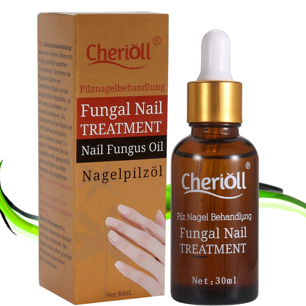 Fungal Nail Treatment, Nail Antifungal Treatment, Anti-Fungal Solution, Suitable for Finger and Toe Nails, Restore Nails to Their Natural State Cherioll