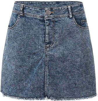 Sylar Falda Vaquera Mujer Minifaldas De Mezclilla Faldas Mujer ...