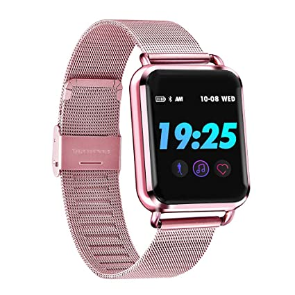 Amazon.com : Miya Smartwatch Women Compatible with iPhone ...