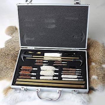 9X Gun Cleaning Kit For Rifle Pistol Handgun Shotgun Cleaning Set Gun Brush