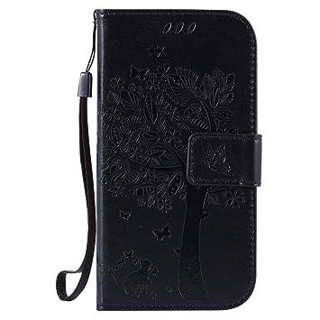 HUANGTAOLI Protección Carcasa de Cuero Funda para Samsung Galaxy S3 i9300/S3 Neo i9301