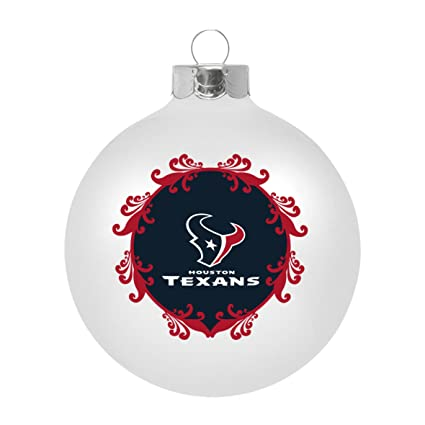 b723fe18505 Image Unavailable. Image not available for. Color  NFL Houston Texans Large  Ball Ornament