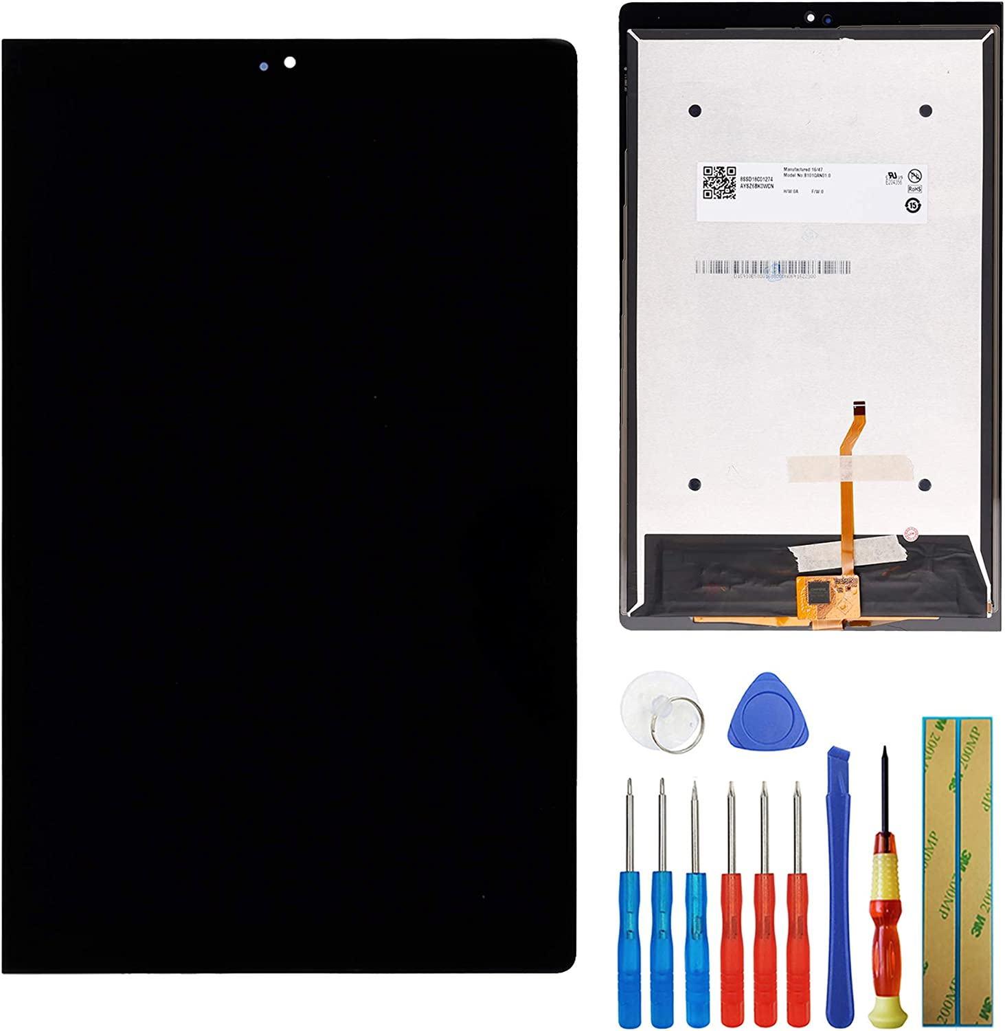 LCD Display Compatible with Lenovo Yoga Tab 3 Pro YT3-X90F WiFi 10.1inch LCD Touch Screen Display Digitizer Assembly + Tools