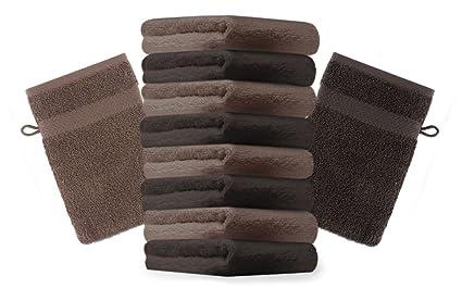 Bagno Marrone Scuro : Betz set di guanti da bagno premium colore marrone scuro e