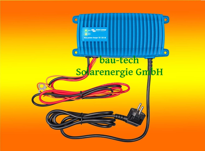 Batterieladegerä t 12Volt / 17Amper Victron Energy Blue Power Charger IP65 von bau-tech Solarenergie GmbH VIBAL12V017A
